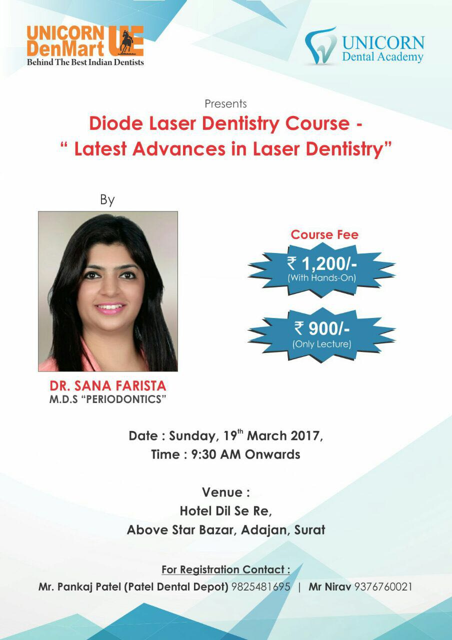Laser Course by Dr.Sana Farista